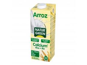 Nápoj rýžový s kalciem 1l BIO NATURGREEN