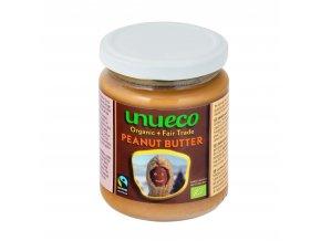 Krém arašídový jemný fair trade 250g BIO UNUECO