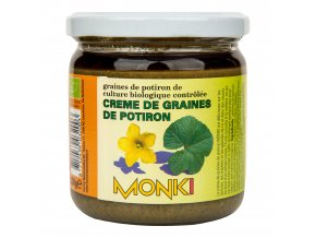 Krém z pražených dýňových semínek 330g BIO MONKI