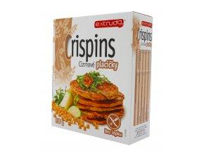 Placičky cizrnové Crispins bezlepkové 250g BIO   EXTRUDO