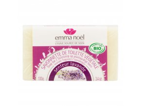 Mýdlo rostlinné levandule 100 g BIO EMMA NOËL