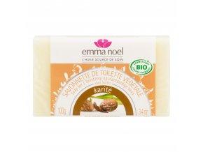 Mýdlo rostlinné karité 100 g BIO EMMA NOËL