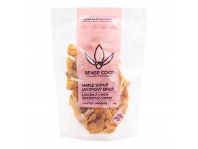 Chipsy kokosové s javorovým sirupem 40 g BIO SENSE COCO