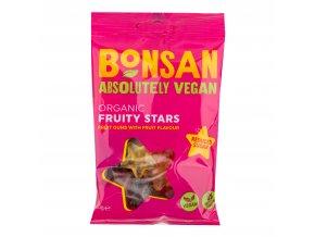 Bonbóny s příchutí ovocné hvězdičky se sníženým obsahem cukru 50 g BIO BONSAN