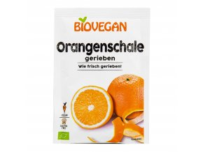 Pomerančová kůra strouhaná 9g BIO BIOVEGAN