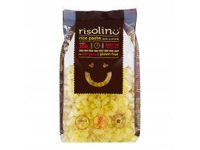 Těstoviny kolínka rýžové bezlepkové 300 g RISOLINO