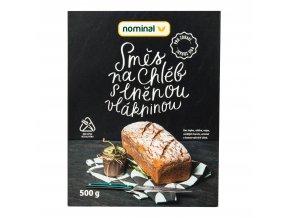 Směs na chléb s lněnou vlákninou bezlepkový 500g NOMINAL