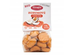 Hrudky čočkové s kokosem bezlepkové 100 g BIO ZEMANKA