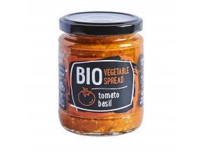 Pomazánka rajčatová s bazalkou 235g BIO RUDOLFS
