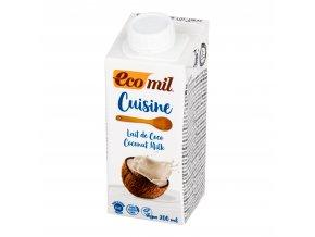 Kokosová alternativa smetany 7% tuku 200ml BIO ECOMIL