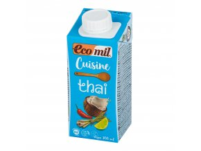 Kokosová alternativa smetany Thai 14% tuku 200ml BIO ECOMIL