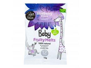 VÝPRODEJ!!!Baby Fruity Melts borůvka 10 g BIO NORDIC FOODIE