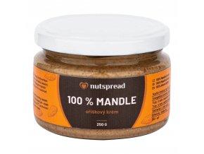 Krém z pražených mandlí 250 g NUTSPREAD