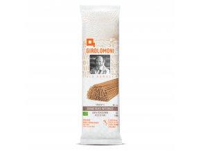 Těstoviny špagety celozrnné semolinové 500g BIO GIROLOMONI