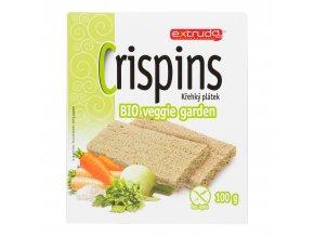 Chlebíček veggie garden 100g BIO EXTRUDO