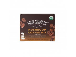 Coffee + Lion's Mane & Chaga mushroom mix 10 sáčků Four Sigmatic