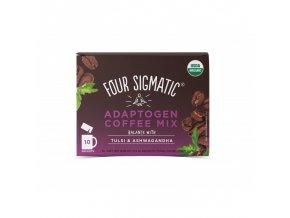 Coffee + Tulsi & Ashwagandha adaptogen mix 10 sáčků Four Sigmatic