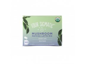 Matcha Latte + Maitake mushroom mix 10 sáčků Four Sigmatic