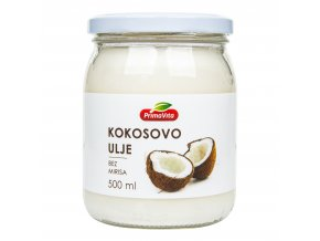 Olej kokosový dezodorizovaný 500ml PRIMAVITA