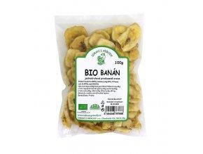 Zdraví z přírody s.r.o. BIO banán 100g ZP