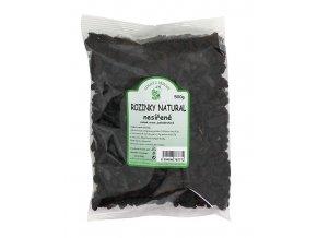 Zdraví z přírody s.r.o. Rozinky NATURAL 500g ZP