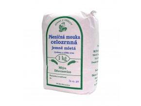 Zdraví z přírody s.r.o. Mouka pšeničná jemná 1kg ZP