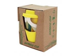 Amaranth life s.r.o. Bambusový hrnek - žlutý 280ml