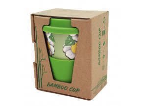 Amaranth life s.r.o. Bambusový hrnek - zelený 280ml