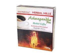 OMA IMPEX CZ, s.r.o. ASHWAGANDHA plus Herbal Coffee 100g