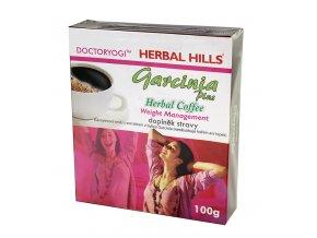 OMA IMPEX CZ, s.r.o. GARCINIA plus Herbal Coffee 100g