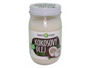 Kokosový olej bez vůně BIO 420ml Purity Vision