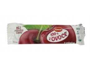 Emco spol. s r.o. Tyčinka 100% ovoce - višeň 30g Emco