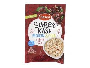 Emco spol. s r.o. Super kaše protein s višněmi 55g Emco