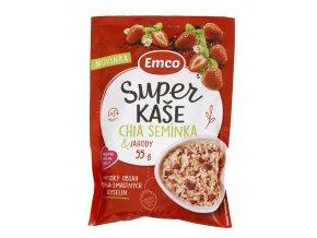 Emco spol. s r.o. Super kaše chia a jahody 55g Emco........