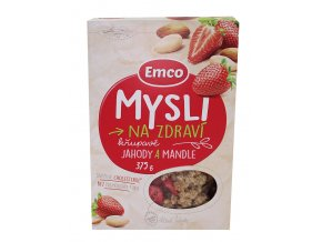Emco spol. s r.o. Mysli - Jahody a mandle 375g Emco....