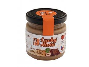 TaV 4 Life s.r.o. Lískové ořechy s mléčnou čoko 200g Lucky Alvin