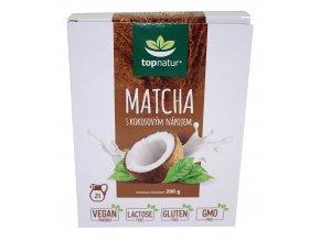 Matcha s kokos. nápojem 200g Topnatur