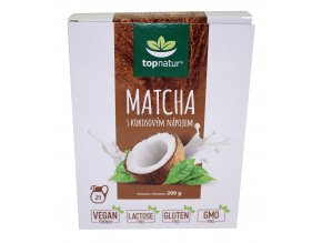 Topnatur s.r.o. Matcha s kokos. nápojem 200g Topnatur
