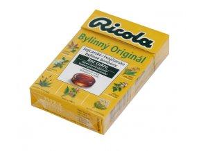 RICOLA AG Drops orig.bylinná směs 40g Ricola