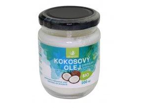 Kokosový olej panenský 200ml Allnature