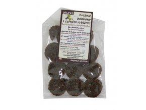 Datlové bonbony Černý rybíz 45g Brikli