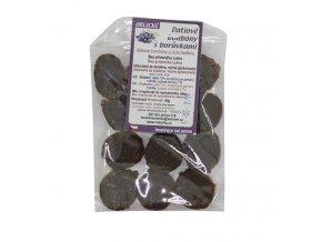 Datlové bonbony Borůvka 45g Brikli