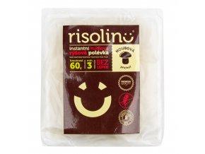 Polévka nudlová rýžová instantní houbová příchuť 60 g RISOLINO