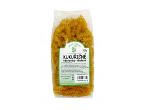 Zdraví z přírody s.r.o. Kukuřičné těstoviny vřetena 250g ZP