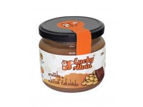 TaV 4 Life s.r.o. Arašídový krém s mléčnou čokol. 330g Lucky Alvin
