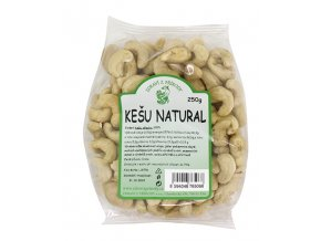 Zdraví z přírody s.r.o. Kešu natural 250g ZP