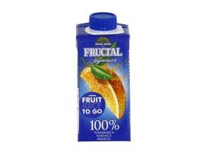 FRUCTAL Fructal superior pomeranč 100% 0,2l