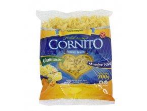 Těstoviny široké nudle bezlepkové 200g Cornito