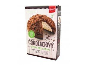 SEMIX PLUSO, spol. s r.o. Čokoládový dort bez lepku 430g Semix
