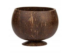 Miska kokosový ořech - kulatá s podstavou 600 ml HEDSOR